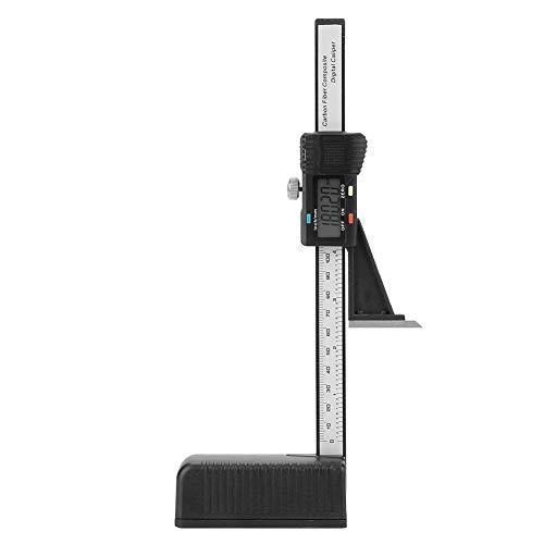 FTVOGUE 0-150mm LCD Digitalanzeigebildschirm Präzisionshöhenöffnung Tiefenmesser mit Magnetfuß