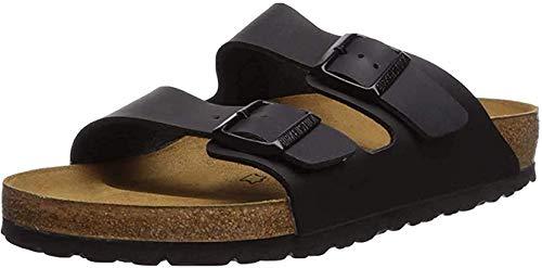Birkenstock Women's Arizona Birko-Flo Black Birko-flor Sandals - 35 N EU (US Women EU's 4-4.5)