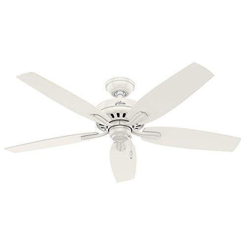 """Hunter Fan Company 53322 52"""" Newsome Ceiling Fan, Fresh White"""