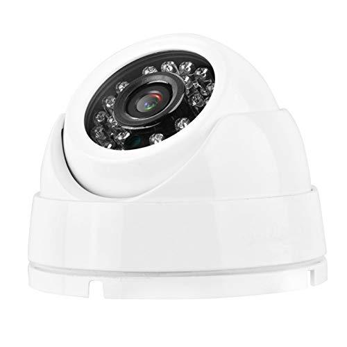 Cámara de vigilancia Cámara infrarroja de Imagen de Alta definición 720P 1 millón de píxeles Ip66 Diseño Resistente al Agua y al Polvo para Interiores(PAL Format)