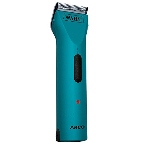 Wahl Professional Animal Arco Pet, Dog, Cat, and Horse Cordless Clipper Kit with 5-in-1 Blade, Teal (#8786-1501)