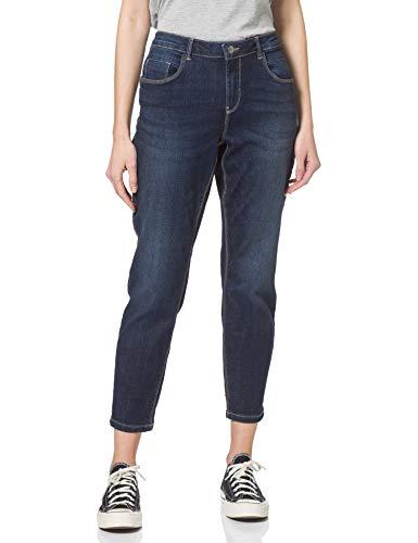 ONLY Carmakoma Damen CARANTE Life REG SK ANK Pushup BJ14-4 Jeans, Dark Blue Denim, 54