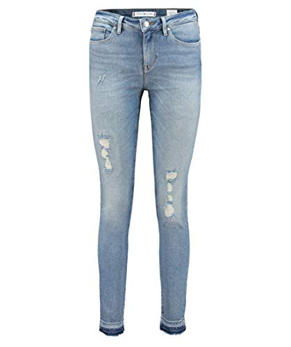 Tommy Hilfiger Damen Jeans Como Jegging Fit Blue (82) 30/32