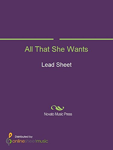 All That She Wants (English Edition)