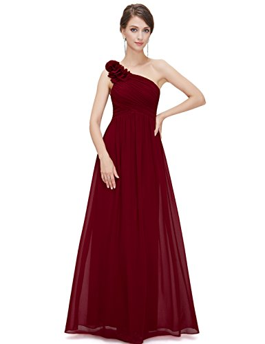 Ever-Pretty Maxi Evening Dresses for Juniors 14US Red