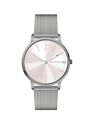 Tommy Hilfiger Reloj Analógico para Mujer de Cuarzo con Correa en Acero Inoxidable 1781935