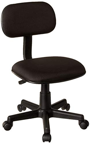 Boss Office Products Fabric Steno Chair in Black