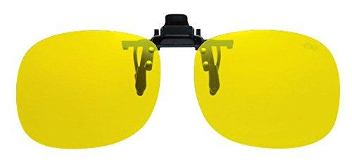 OHKEI OPTICAL(オーケー光学) エロイコ クリップオン 二眼タイプ イエロー(ノンポラ) BV-21