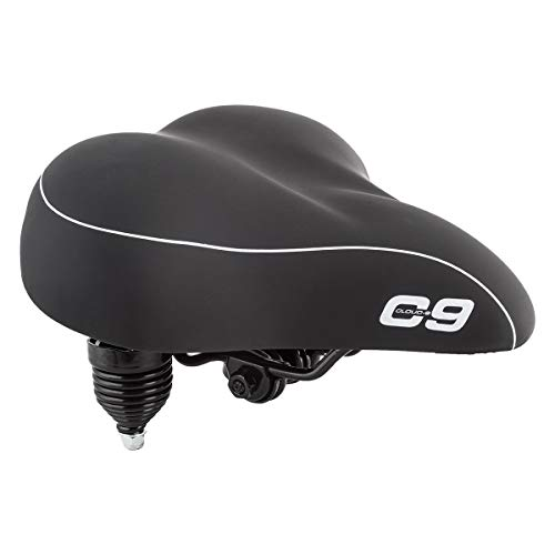 Sunlite Cloud-9 Bicycle Suspension Cruiser Saddle, Cruiser Gel,...