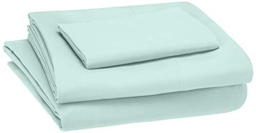 manta verde menta fabricante Amazon Basics