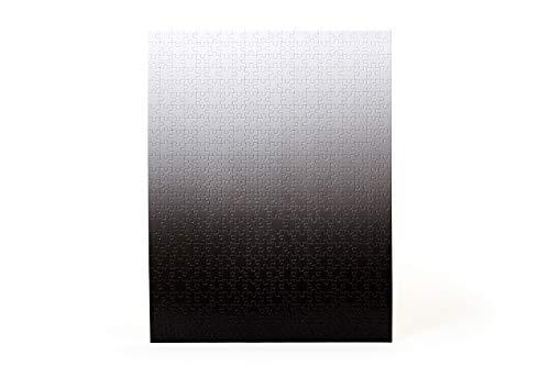 Areaware Gradient - Puzzle KLEIN | Bryce Wilner Schwarz/Weiß