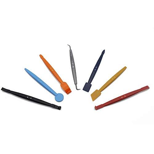 MiOYOOW 7 teilig Auto Zierleistenkeile, Demontage Werkzeug Innenraum Verkleidung Set, Türverkleidung Werkzeug für...
