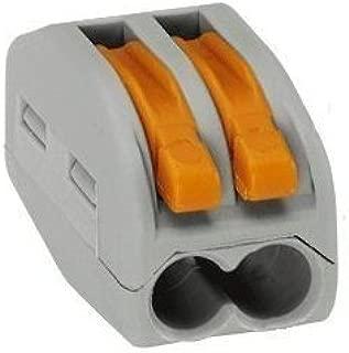 Wago 222-412 Lever-Nuts 2 Conductor Compact Connectors 50 PK