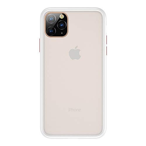 Holster mobiele telefoonhoes - voor iPhone 11 Benks stoot-band PC + TPU-beschermhoes, wit
