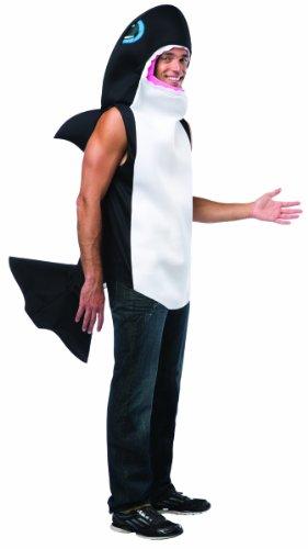 Disfraz de ballena asesina para adulto