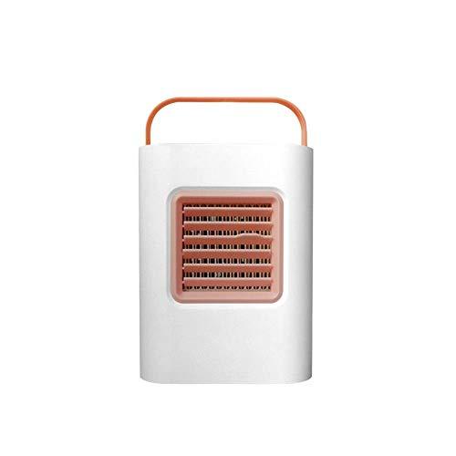 DFJU Enfriador de Aire Ventilador de enfriamiento USB Purificador de Aire Humidificador Luz de Noche LED (Color: Azul)