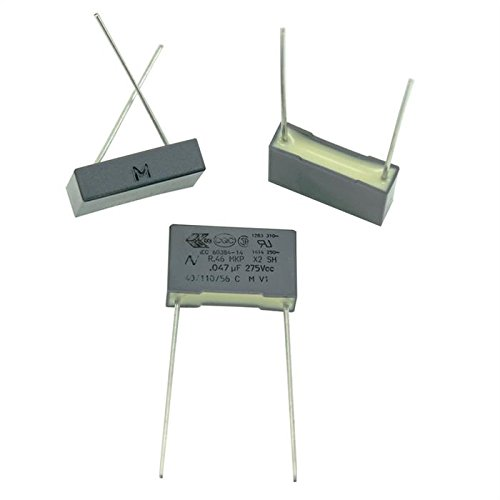 20x Condensador de supresión 47nF 275V AC RM15 R46KI2470ZI04M 47000pF