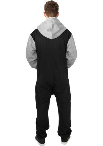 URBAN CLASSICS – College Sweat (black/grey) – Jumpsuit - 2