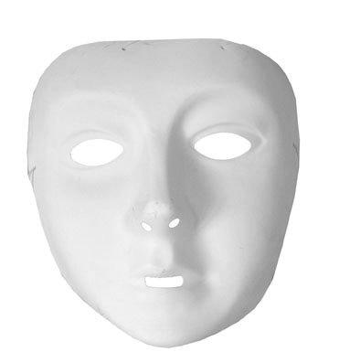 Masque blanc enfant - taille - Taille Unique - 217935