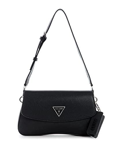 Guess Handbag, Sac à Main Femme, Noir, Taille Unique