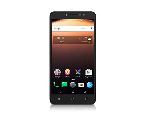 Alcatel A3 XL Smartphone (6 Pulgadas, 16 GB de Memoria, Android 7.0), Color Negro