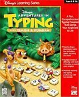 Adventures in Typing with Timon & Pumbaa (Learning Ages 6 & Up)
