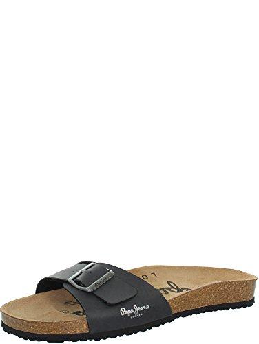 PEPE JEANS - SANDALES BIO PMS90010 DARK GREY (41)