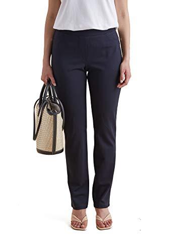 Elena Mirò : Pantaloni Skinny in Punto Milano Blu 37 (Italian Size)