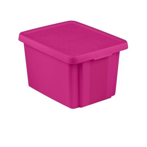 Curver opbergdoos met deksel box opbergdoos 26L roze