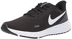 Nike Damen Revolution 5 Running shoes, Schwarz, 38.5 EU
