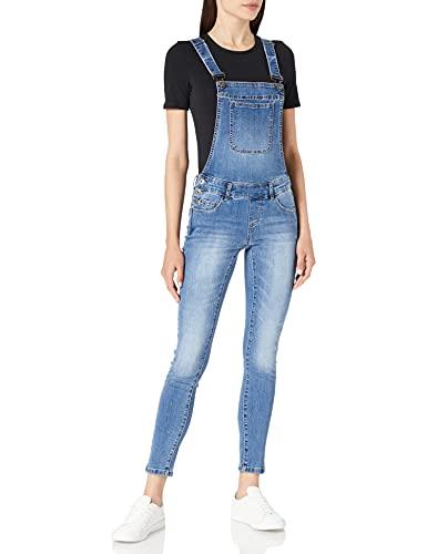 ONLY Damen ONLKIM Witty MED DNM Overall BJ Jeans, Medium Blue Denim, 42/32