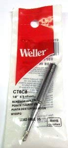 Weller 100 Watt Soldring Iron Tip 1/8  for Wpg100 Iron Ct6c8