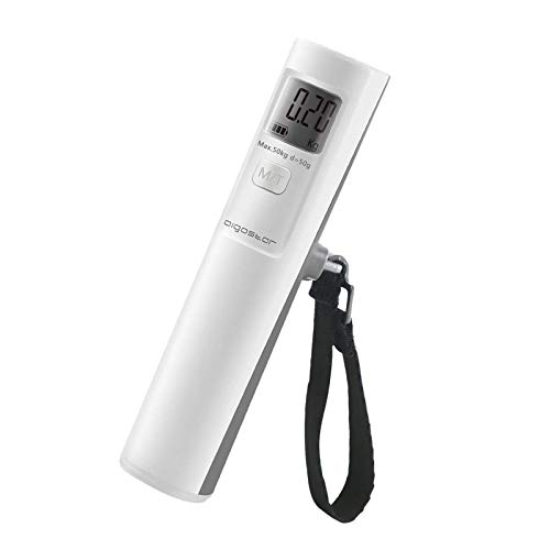 AigostarFeather30LDD-DiebatterieloseGepäckwaage,LCD-Display, Shake-Schalter,Auto-Shut,. EINWEGVERPACKUNG.