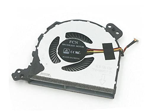 HuiHan Reemplazo para ventilador de refrigeración de CPU Lenovo Ideapad 320-14IKB 320-15IKB 320-15ISK 320-17IKB serie 520-15IKB