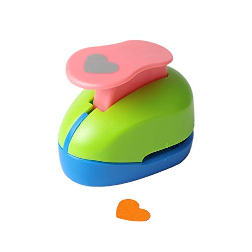 Heart Punch 3/8 inch Craft Lever Punch Handmade Paper Punch Candy Color by Random?Candy Heart?