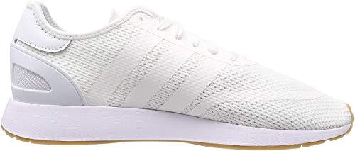 adidas Herren N-5923 Gymnastikschuhe, Weiß (Ftwr White/Ftwr White/Gum4), 43 1/3 EU(9UK)