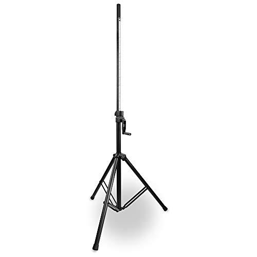 Vonyx LS93 Soporte de Altavoz Profesional Wind-up 134-205cm Acero
