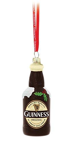 Guinness Flasche Glas Weihnachtsdekoration
