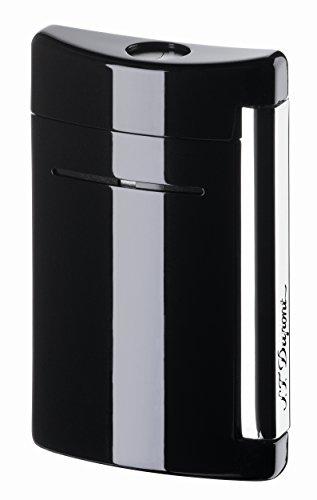 S.T. Dupont S.T. Dupont Minijet Feuerzeug,Motiv: Schwarzer Totenkopf glänzend schwarz Glänzend Schwarz