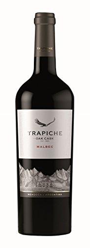 6x 0,75l - 2018er - Trapiche - Oak Cask - Malbec - Mendoza - Argentinien - Rotwein trocken