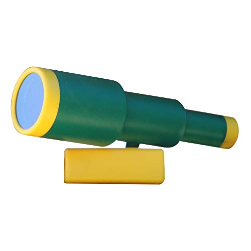 KidKraft Telescope Swingset Accessory - Green & Yellow, Gift for Ages 3-10