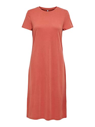 Only Onlwillow Life S/s Dress Jrs Vestido, Salsa Picante, S para Mujer