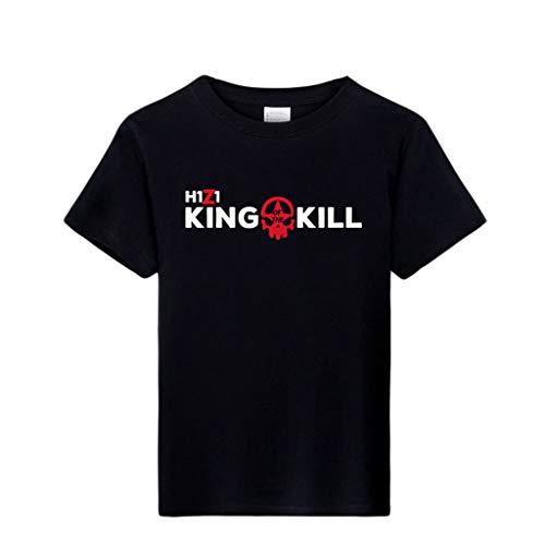 ACEGI - Big Runaway - h1z1 - Camiseta de patrn - Camiseta de Hombre - Cuello Redondo - Moda - Camiseta de algodn - Verano