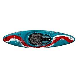 Dagger Nomad Sit Inside Whitewater Kayak 1 Contour Ergo Outfitting Ratchet Adjustable Backband Tank Style Roto Molded Seating with Leg Lifter
