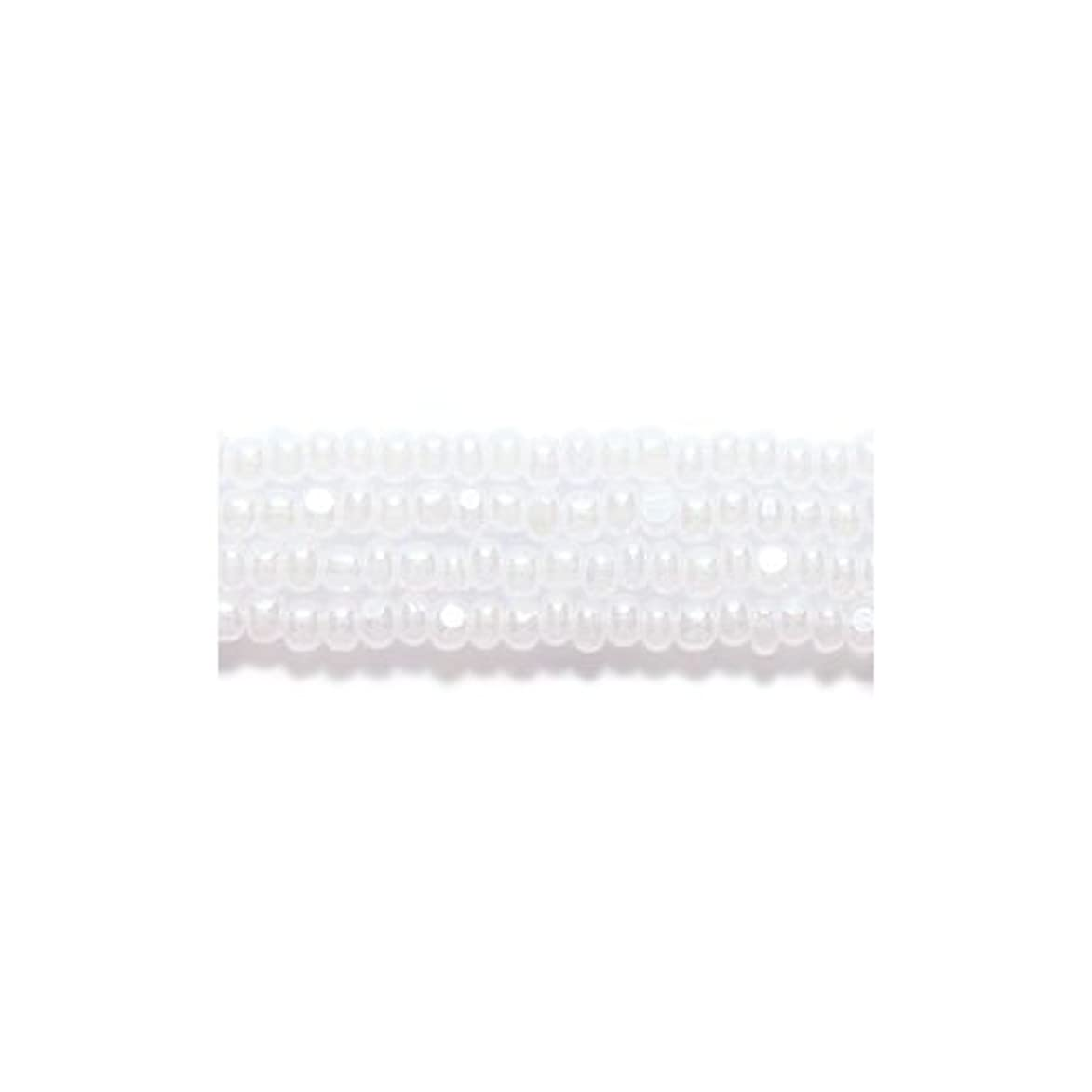 Preciosa Ornela Czech Seed Bead, True Cut Pearl White, Size 11/0 wqn390111859764