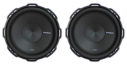 "2) Rockford Fosgate P2D2-12 12"" 1600Watt 2-Ohm Punch Series Car Audio Subwoofers"