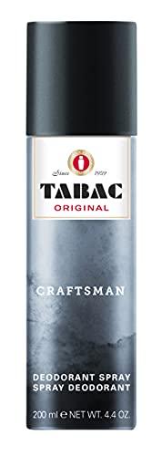 Tabac® Craftsman | Deodorant Spray 24 Stunden Deo-Schutz - angenehm facettenreichen Duft | 200ml Aerosol Spray