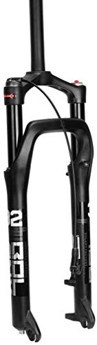 CZYNB Comfortable Mountain Bike Suspension Fork,26 Inch Magnesium Alloy Oil Pressure Absorber Snow Beach Bicycle Accessories 135mm Applicable 4.0 Tires
