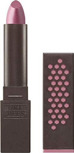 Burts Bees 100% Natural Glossy Lipstick, Rose Falls - 1 Tube