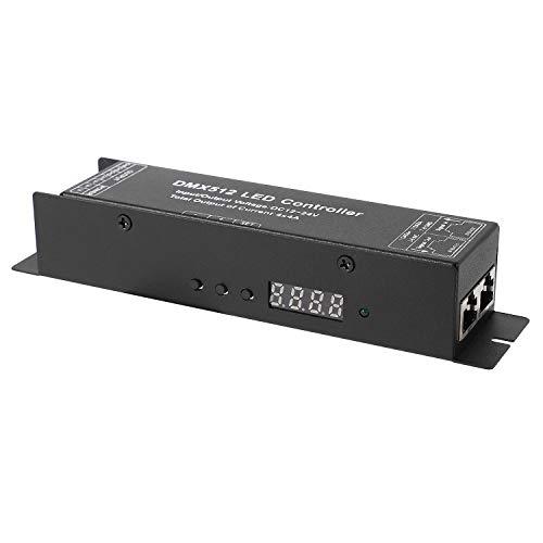 PAJKYQSL DMX 512 Decodificador Driver DMX512 Rgbw Controlador para RGB LED Strip Light 12 V-24 V